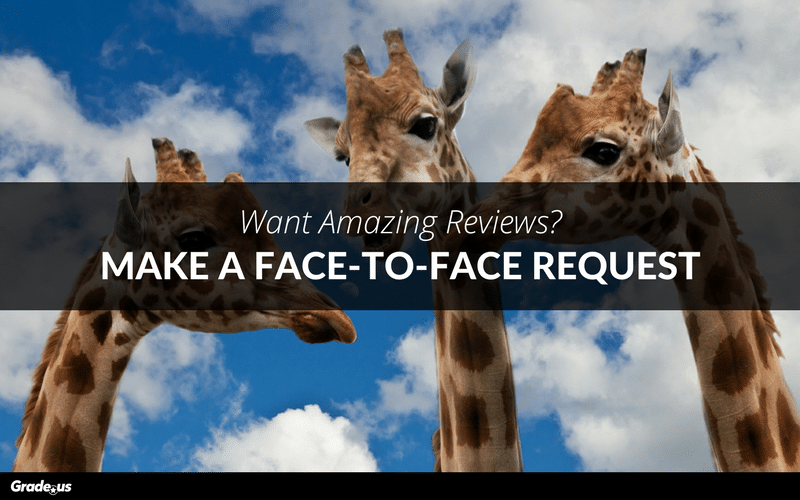 face-to-face review request