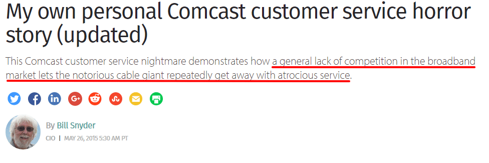 comcast moat