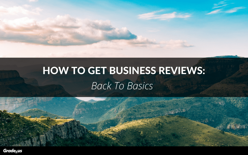 How To Get Business Reviews