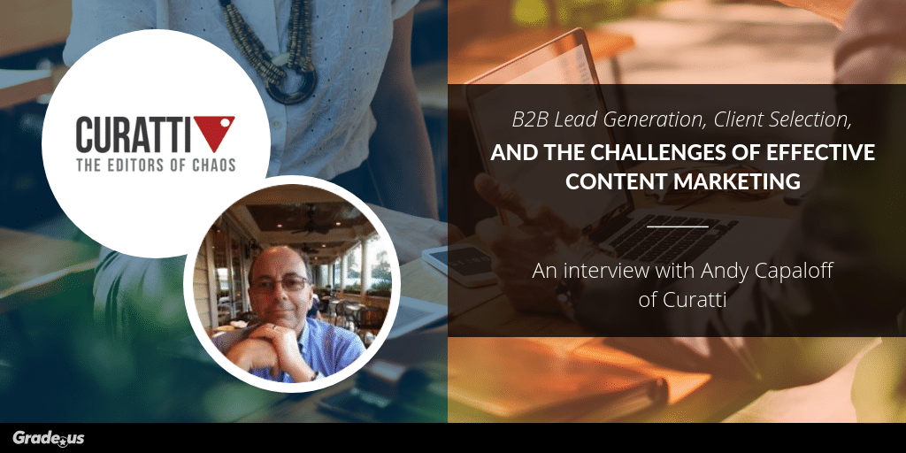 andy capaloff content marketing expert interview