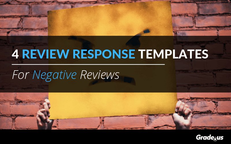 4 Review Response Templates For Negative Reviews
