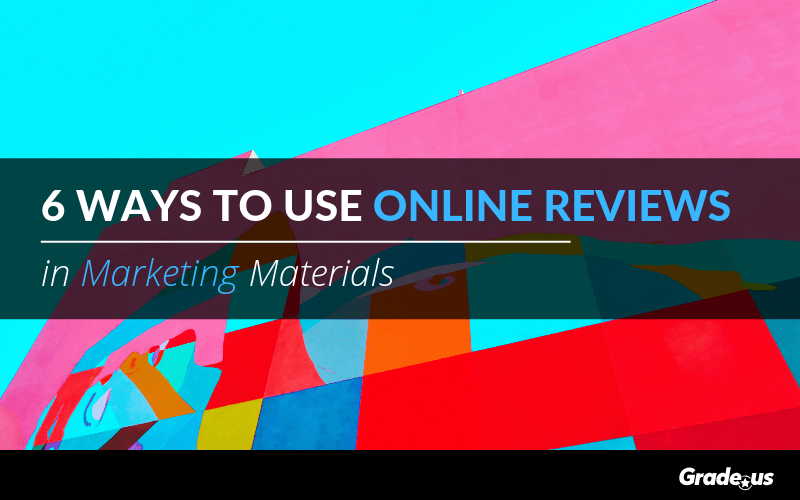 review marketing materials