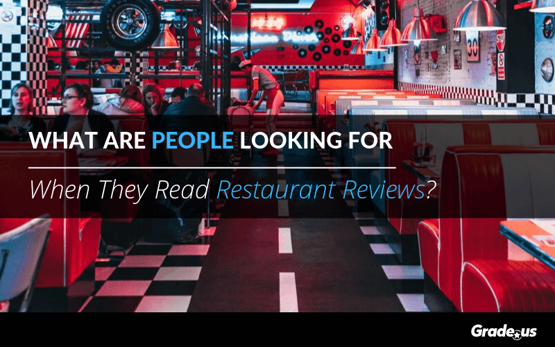 What Are People Looking For When They Read Restaurant Reviews?